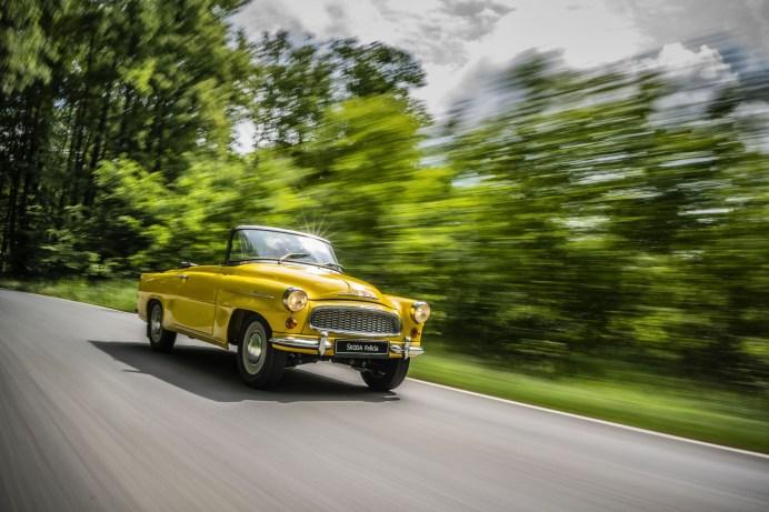 Zu den Schmuckstücken der 125-jährigen Skoda-Geschichte zählt das Cabriolet Felicia, von dem zwischen 1959 und 1964 insgesamt 14.863 Stück gebaut werden. © Skoda