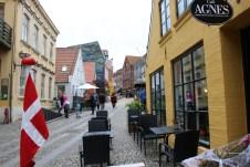 Die historisch geprägten Gassen der Innenstädte beeindrucken mit ihrem Charme, wie hier in Aabenraa. © Kurt Sohnemann