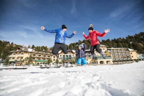 Ideale Winterferien für Familien. Foto: Alex Koch