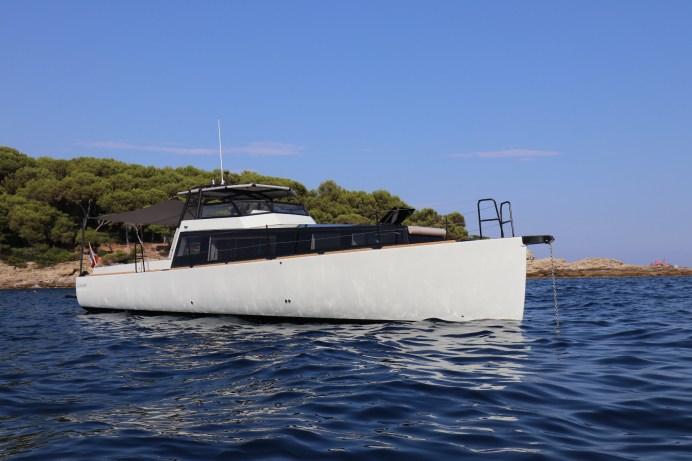 """In der längenunabhängigen Verdrängerklasse geht der """"European-Powerboat-of-the-Year""""-Award an die Turbocraft Silverfin. © Delius-Klasing-Verlag / Boote"""