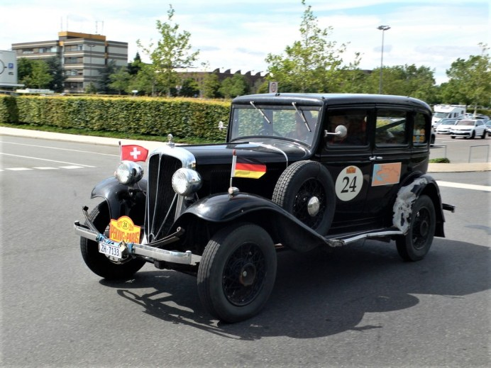 Oldtimer in der Autostadt: ADAC Deutschland Klassik & Peking to Paris Motor Challenge 2019. Foto: Auto-Medienportal.Net/Tim Westermann