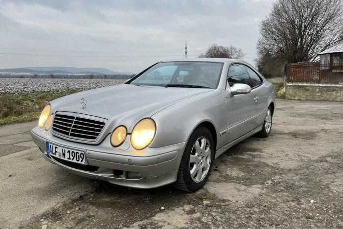 Mit diesem Mercedes Benz CLK 230 war einst Karl Dall auf Tour. © mobile.de