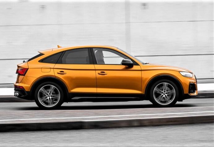 Gelungener Auftritt: Der SQ5 Sportback ist zum Marktstart die Spitzenversion der Baureihe. © Audi