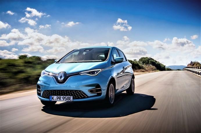Der Renault ZOE war im Jahr 2020 erneut Deutschlands Elektroauto Nummer eins. © Renault