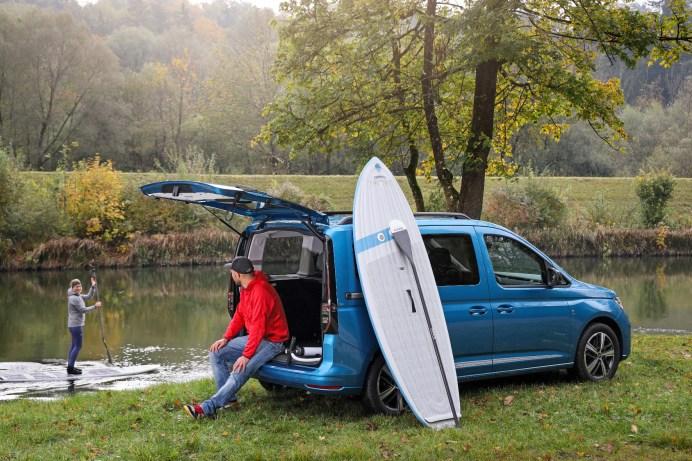Nachzügler: Als California ist der Caddy nun Mitglied einer traditionsreichen Reisemobil-Familie. © Volkswagen