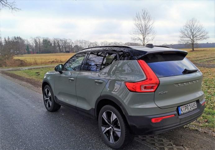 Die Zielgruppe für den XC40 Recharge sind laut Volvo anspruchsvolle Individualisten, die Freude an einem Lifestyle-Fahrzeug haben. © Mike Neumann / mid