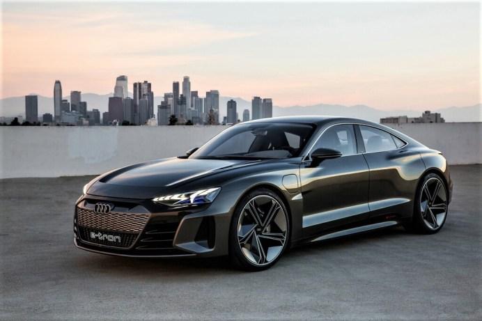 Audi e-Tron GT Concept von 2018. Foto: Auto-Medienportal.Net/Audi
