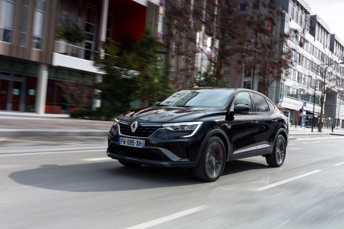 SUV mit Coupe-Linie: für Renault eine neuartige Auto-Form. © Renault