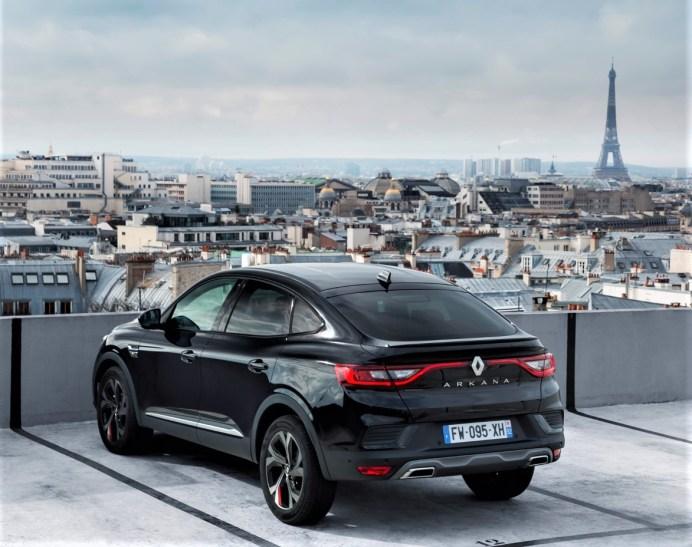 Crossover auf Französisch: der Renault Arkana. © Renault