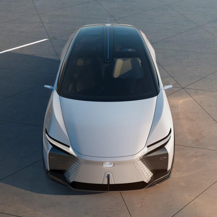 Konzeptstudie Lexus LF-Z. Foto: Auto-Medienportal.Net/Lexus