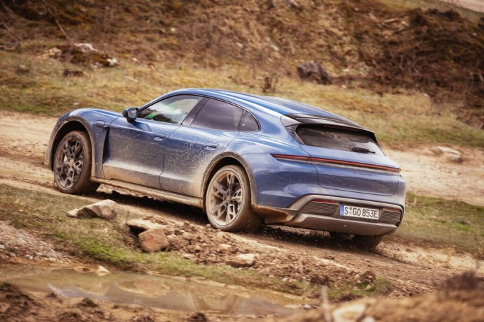 Porsche Taycan Cross Turismo. Foto: Auto-Medienportal.Net/Porsche