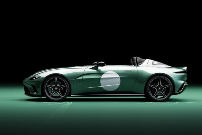 """Aston Martin V12 Speedster, Sondermodell """"DBR 1"""". Foto: Auto-Medienportal.Net/Aston Martin"""