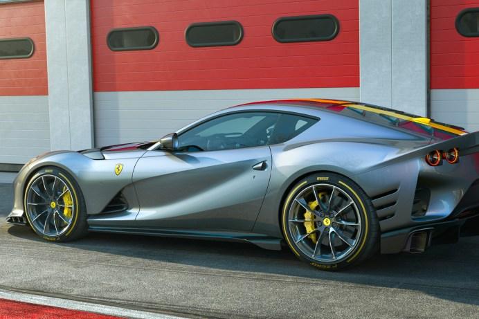 Angetrieben wird der 812 Competizione von Ferraris legendärem V12-Saugmotor. © Ferrari