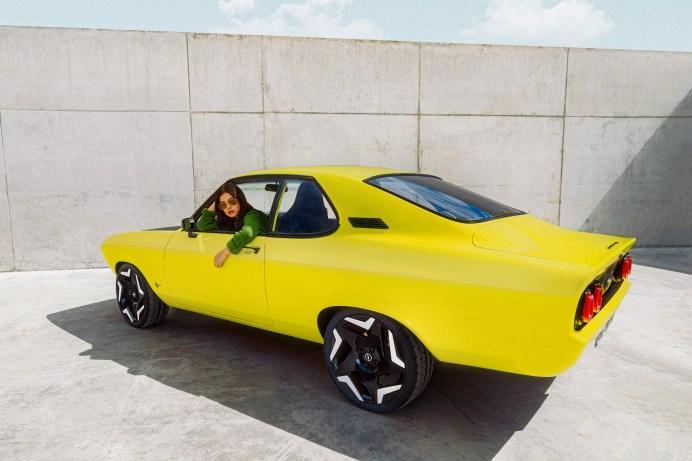 Die Kraft wird beim Elektro-Manta an die Hinterräder geleitet. © Opel