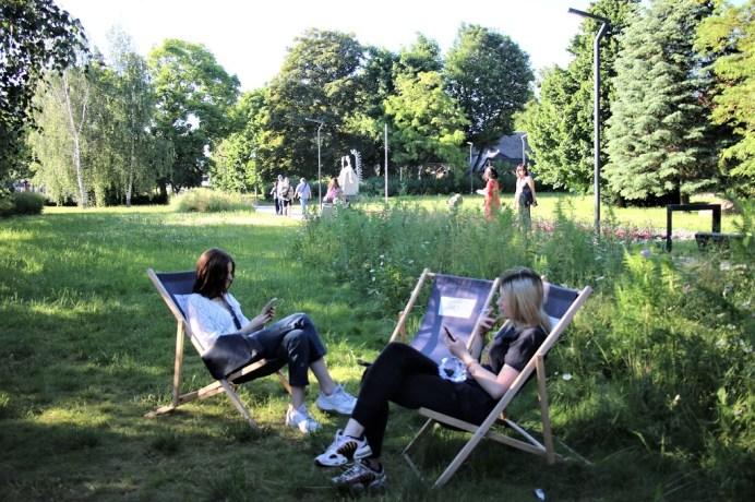 Die Einwohner der Universitätsstadt Torun können inmitten der Stadt im Grünen entspannen. © Kurt Sohnemann