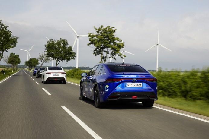 Die Reichweite hat sich um 30 Prozent auf 650 Kilometer erhöht. © Toyota