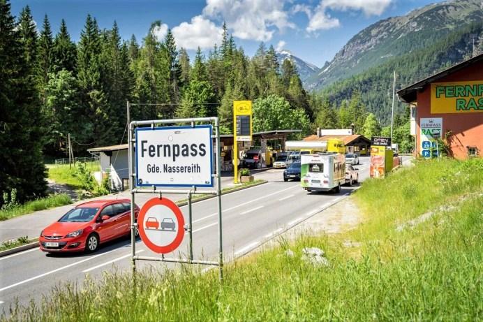 Der E-Caravan von Dethleffs auf Tour über die Alpen. Foto: Autoren-Union Mobilität/Dethleffs
