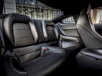 Zwei Notsitze im Fond des Mach 1. © Ford