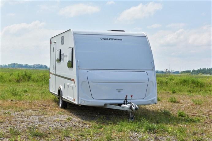 Das günstigste Modell: Weinsberg Cara Cito 470 QDK.Foto: Autoren-Union Mobilität/ADAC/Uwe Rattay