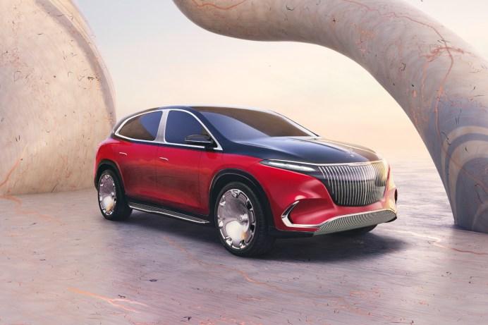 Mit dem Concept EQS gibt Mercedes-Maybach einen konkreten Ausblick auf sein erstes vollelektrisches Serienmodell. © Daimler