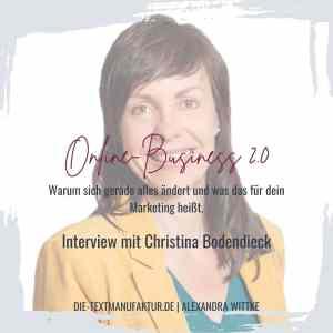 Christina Bodendieck