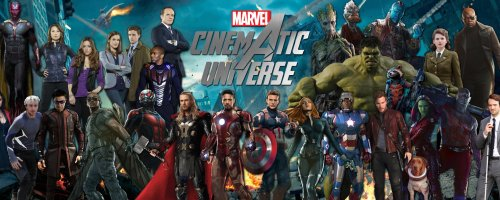 MCU Marvel Cinematic Universe 3