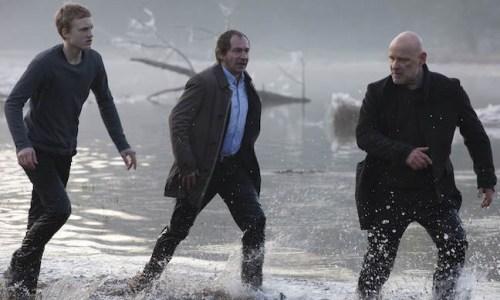 Krüger, Fichte, Peter erreichen den Eingang zum Verlies