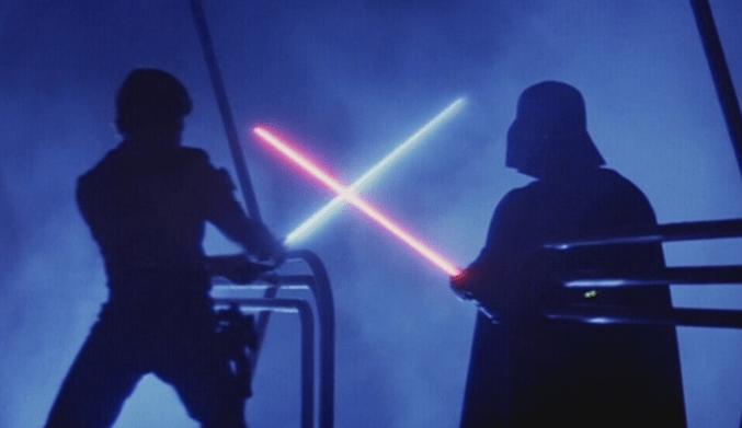 Star Wars Vader und luke