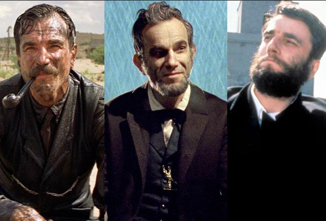 Daniel Day-Lewis Oscar Roles