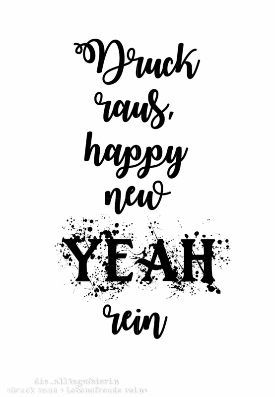 Freebie, Druck raus, happy new yeah, Panna cotta, Bild, Lyrics