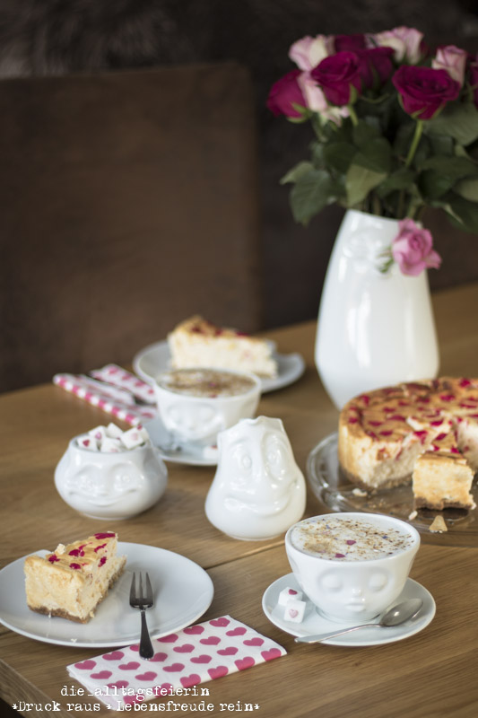 Valentinstag mit leichtem New York – Cheesecake