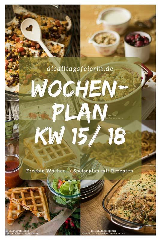 Speiseplan KW 16/18 * Essen ist fertig!