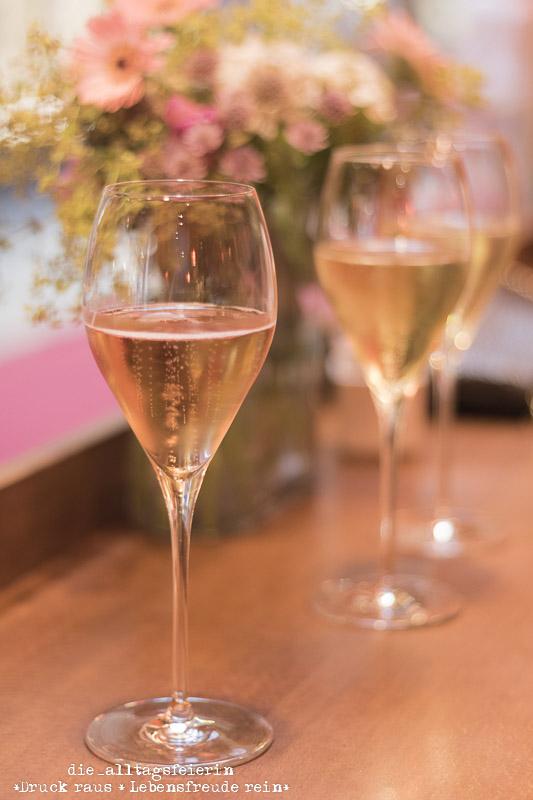 Champagner, Rosé Champagner, GOURMÉTAGE, Gourmétage, Maedlerpassage, Leipzig, Syltglueck goes Leipzig