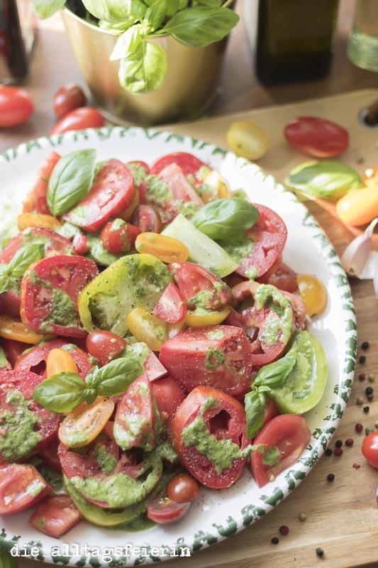 Bunter Tomaten-Salat * einfach lecker *