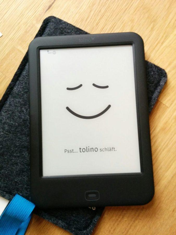 Mein Tolino - schlafend Foto: Petra Breunig