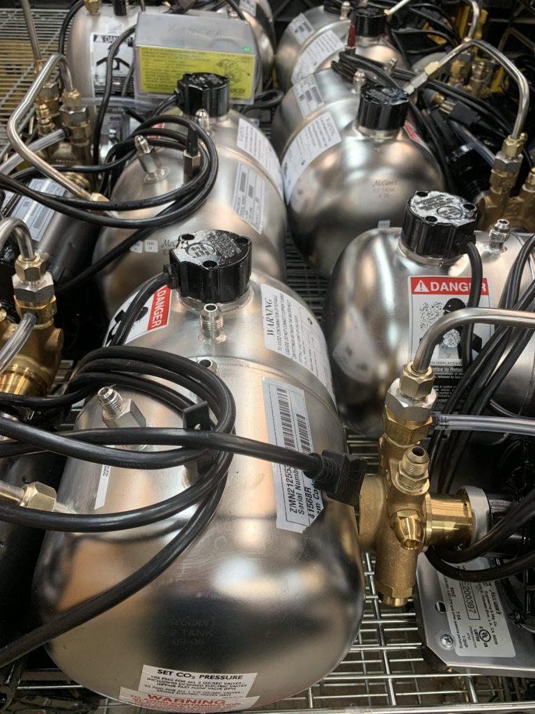 Carbonators repaired Dieb Enterprises