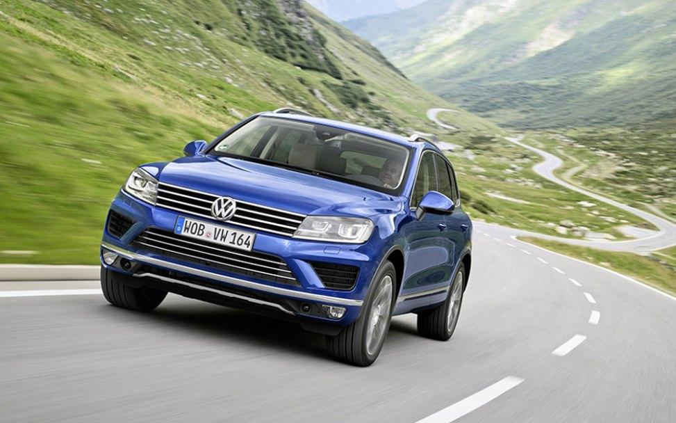 VW Touareg (Bild: Volkswagen)
