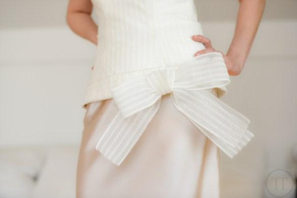 Änderung Brautkleid Abendkleid