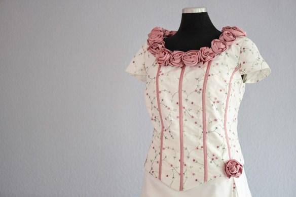Romantisches Brautkleid Nähen Heidelberg
