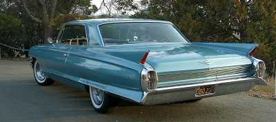 1962 Cadillac Series 62 Coupe de Ville 4 Brush REAR