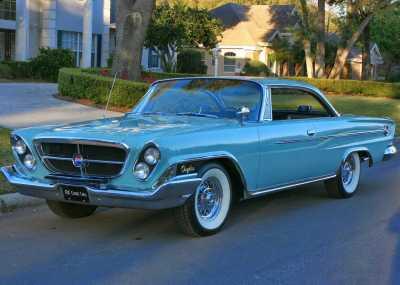 1962 Chrysler 300H 7BRUSH FRONT