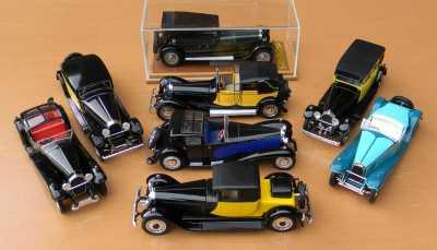 Bugatti Royales x8