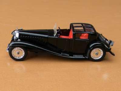 Solido 130 Bugatti Royale Chassis 41100 5th version pic3