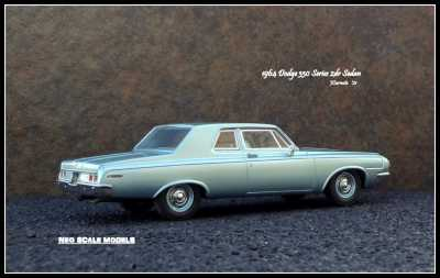 1964 Dodge 330 2dr Sedan 7