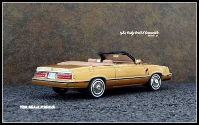 1984 Dodge 600ES Conv 7