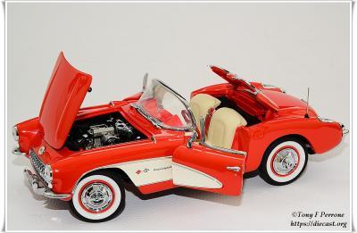 4 FM 57 Corvette Fiberglass