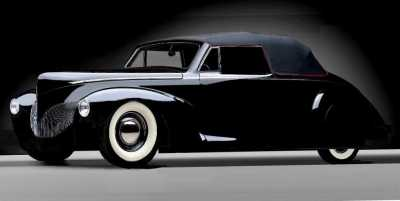 40 Lincoln Zephyr Cabriolet   PS  (2a)
