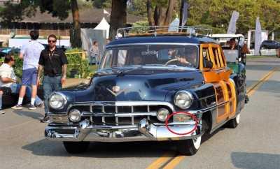 1952 Cadillac Schwartz Body Front 1