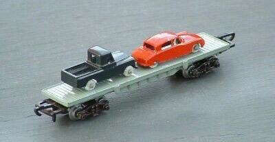 LONE STAR Treble o Trains N Gauge CAR CARRYING FLAT