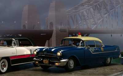 1955 Pontiac police 2A